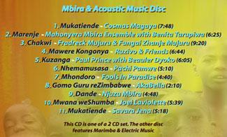 Mwoyochena kuZimbabwe CD Volume 2